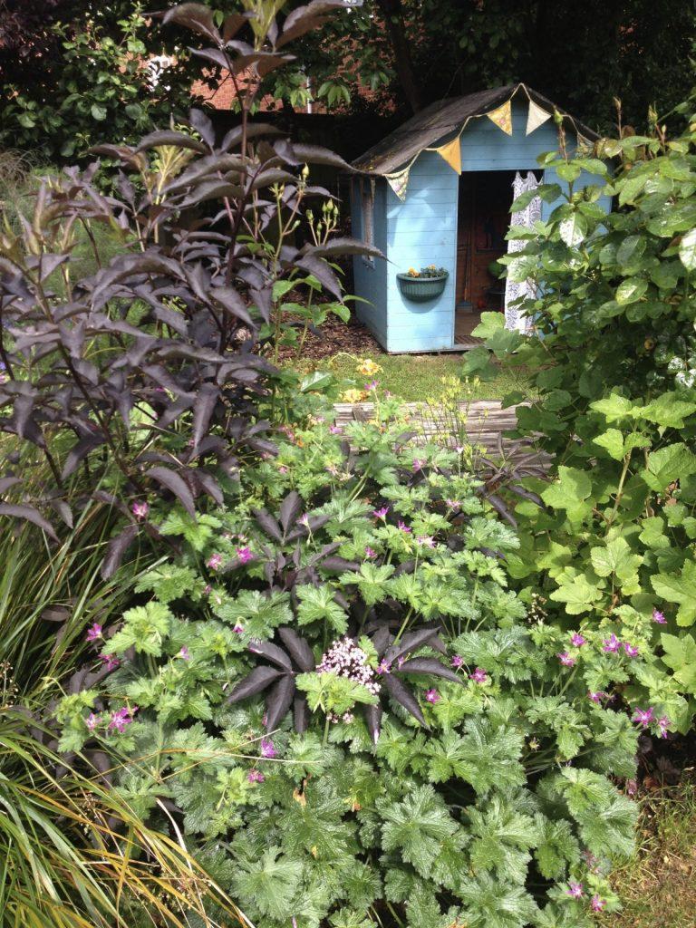Open garden wendy house