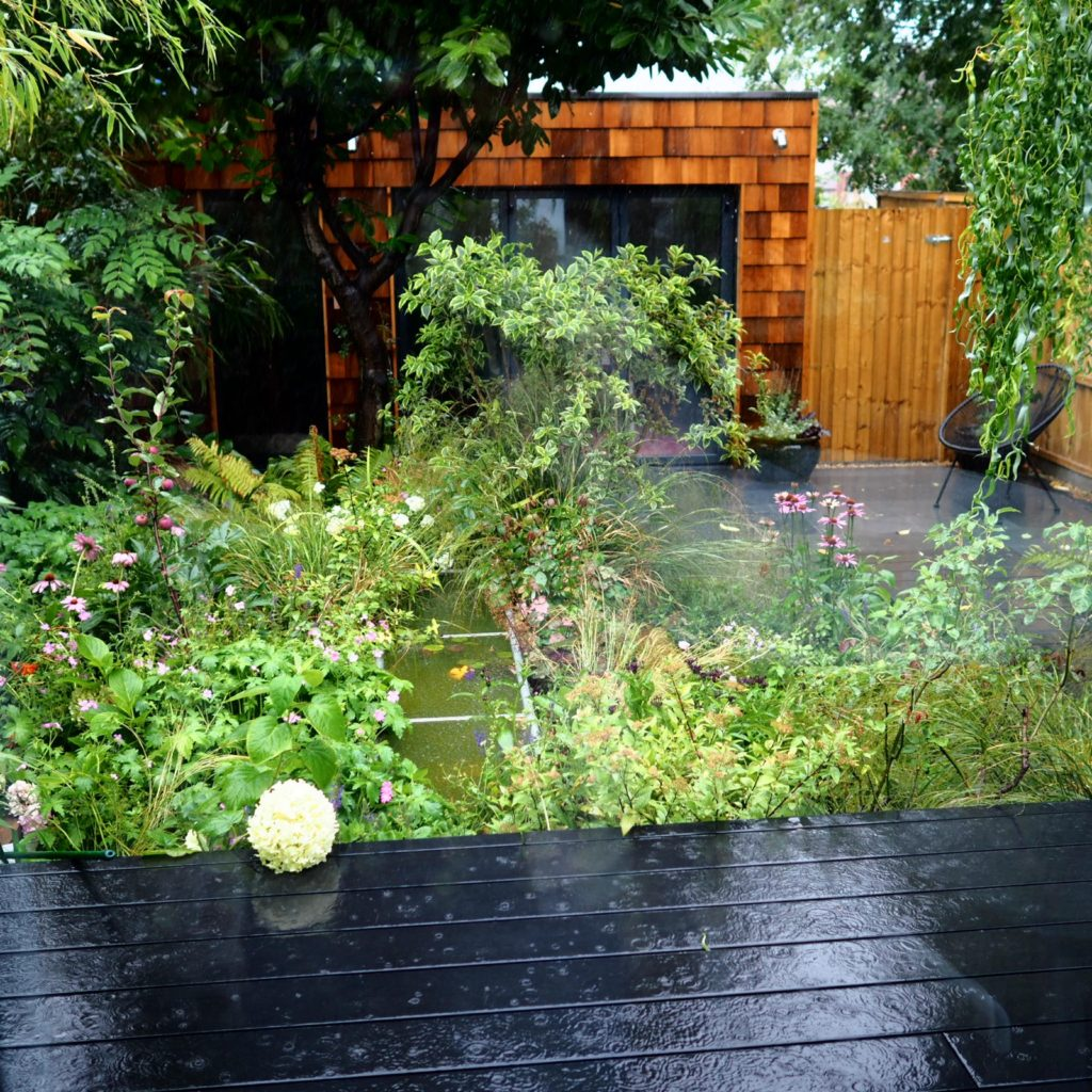 Back To Black' Garden, College Road, Norwich – The Small ... Garden Planters Norwich on vermont garden, newcastle garden, amsterdam garden, paris garden,